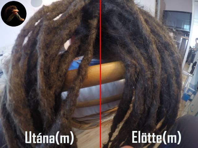 A raszta haj tövének javítása
