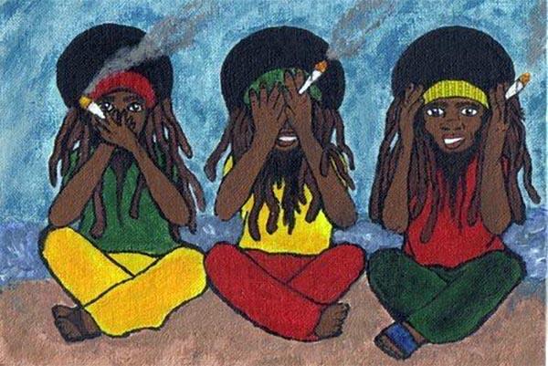 Rasztafarizmus, raszta haj, drogok