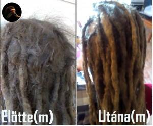 Raszta haj javítás